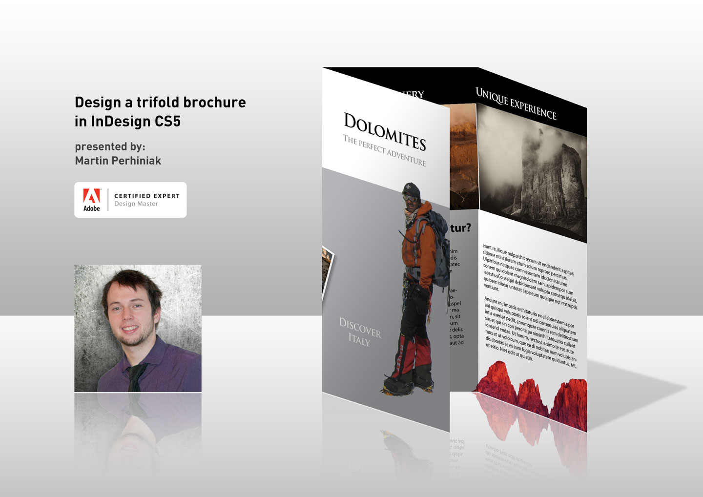 brochure templates for photoshop cs5 - designing a trifold brochure in indesign cs5 eseminar