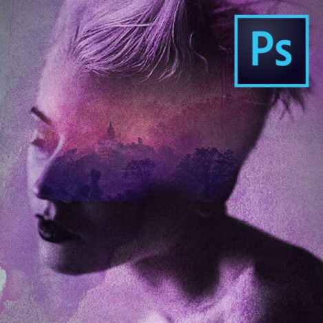 Photoshop CC how to make a movie poster