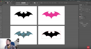 Adobe CC 2018 Panels Example