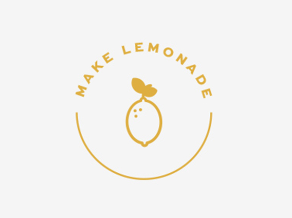 logo circle lemon design brief