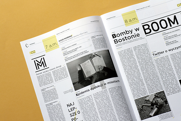 minimal creative brief layout examples