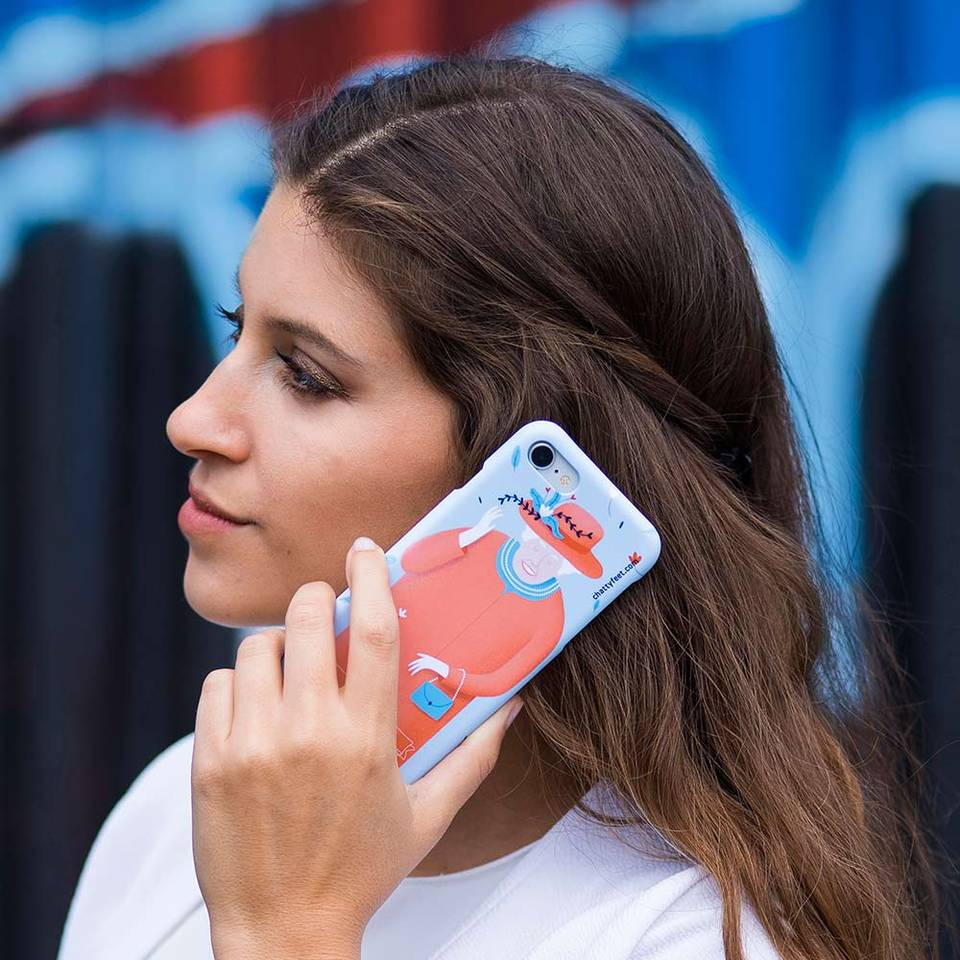 Creative Company Cool iPhone Case Royal