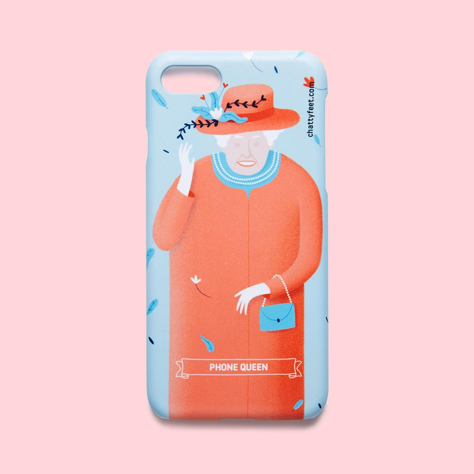 Creative Company Queen Cool iPhone