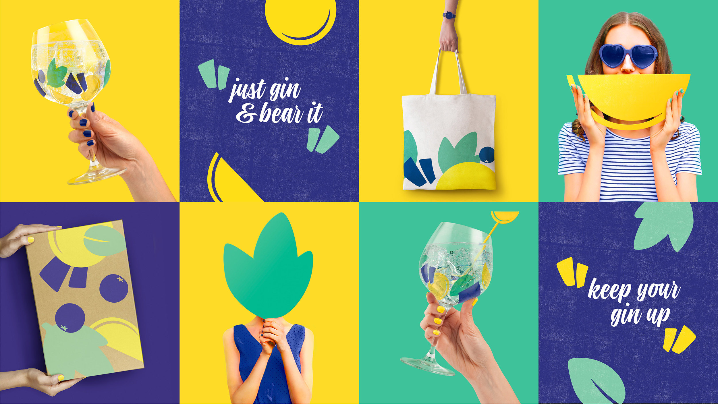 gin brand packaging design