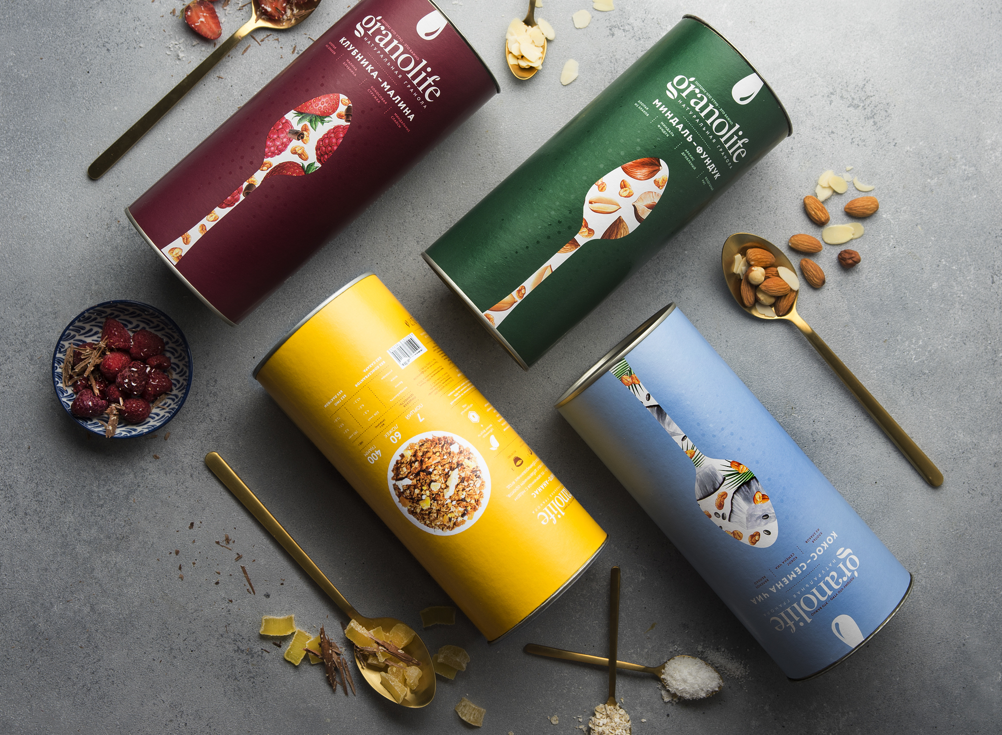 granola packaging design