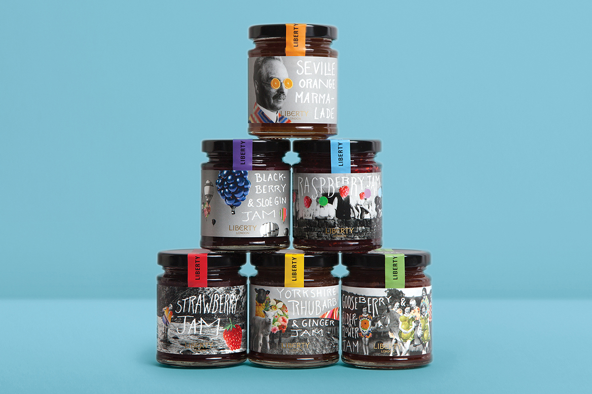 jars liberty packaging design
