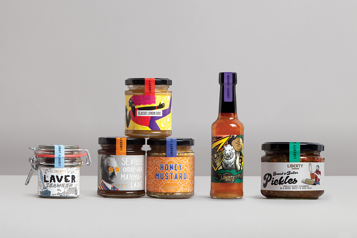 packaging design liberty own food range