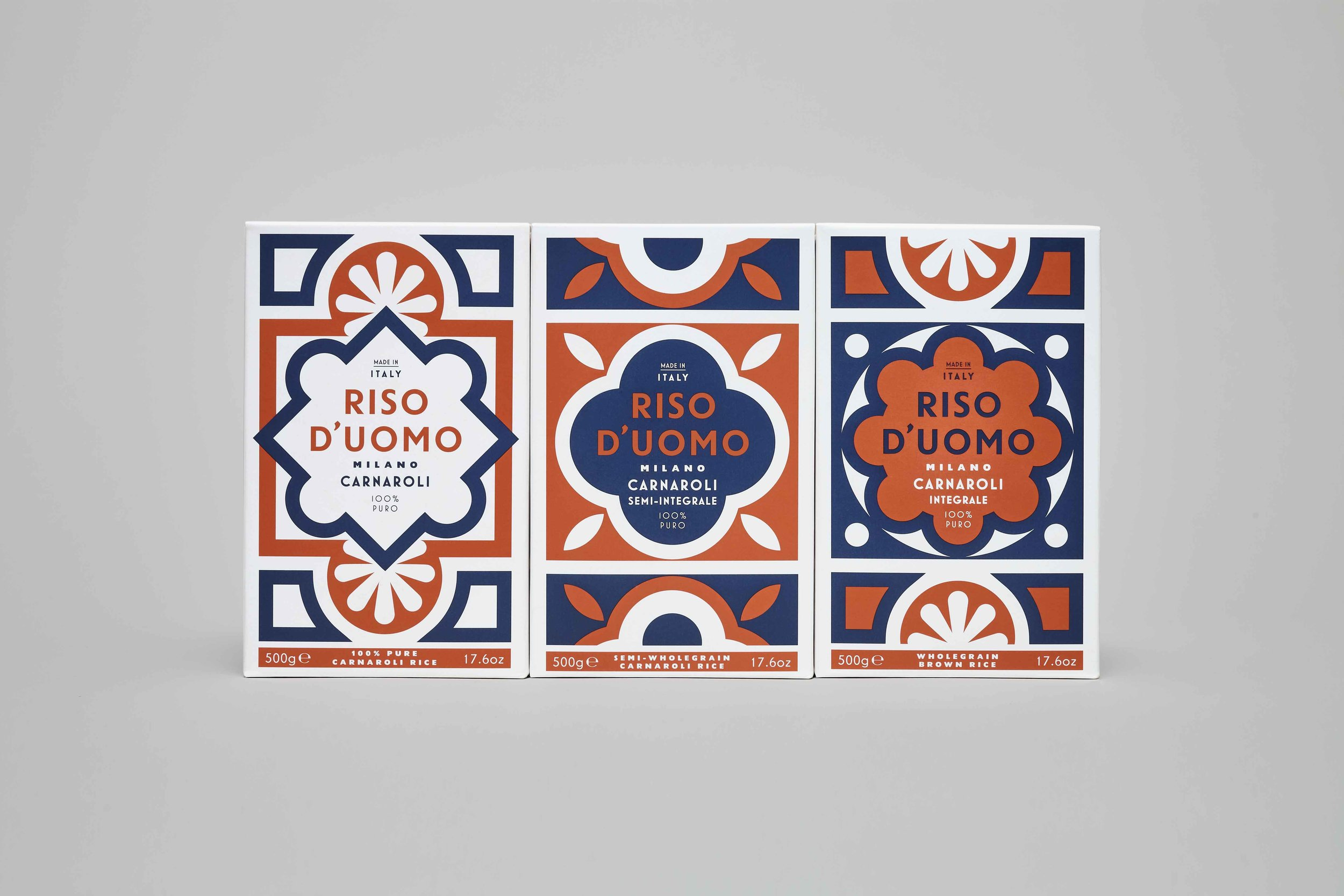 riso duomo italy packaging design