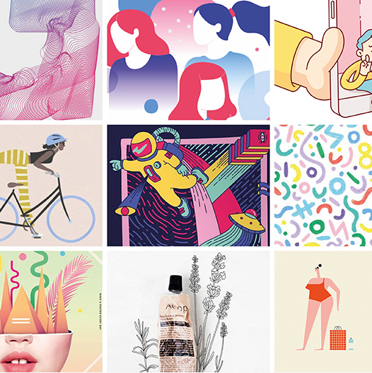 New Graphic Design Trends: Graphic Design Trends 2019