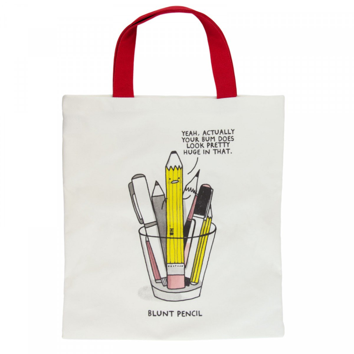 blunt-pencil-tote-bag gifts for designers