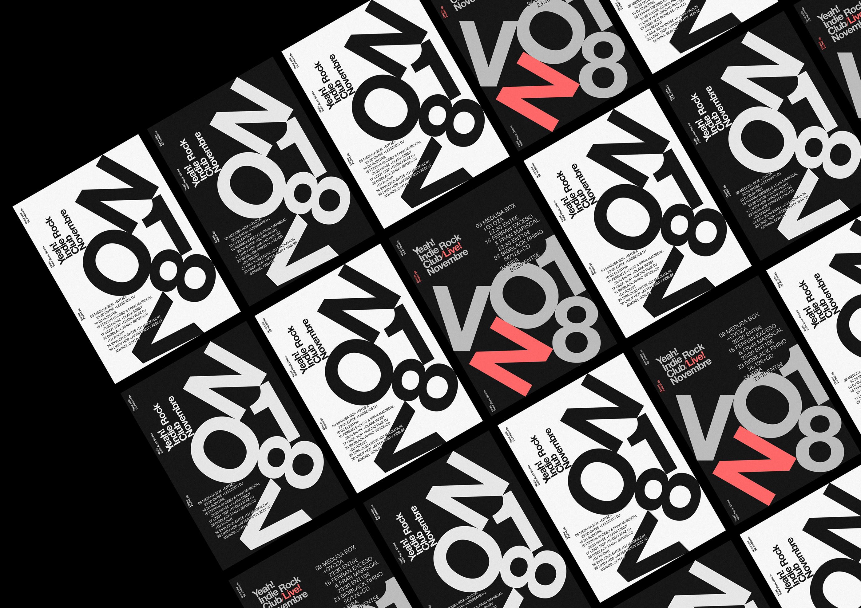 poster design contrast