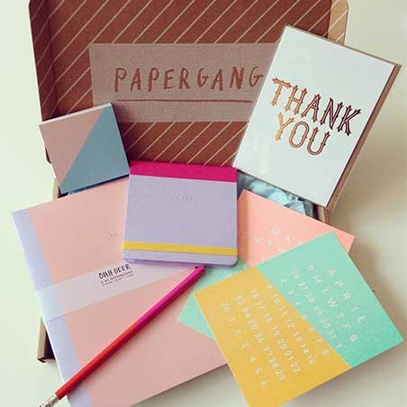 papergang open box gifts for designers