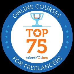badge online course top 75