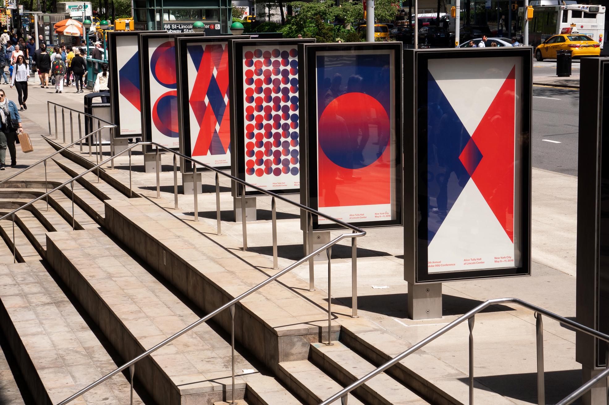99U design work posters