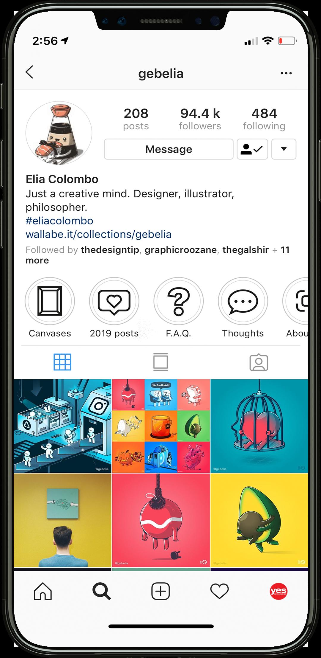 inspiration Elia Colombo