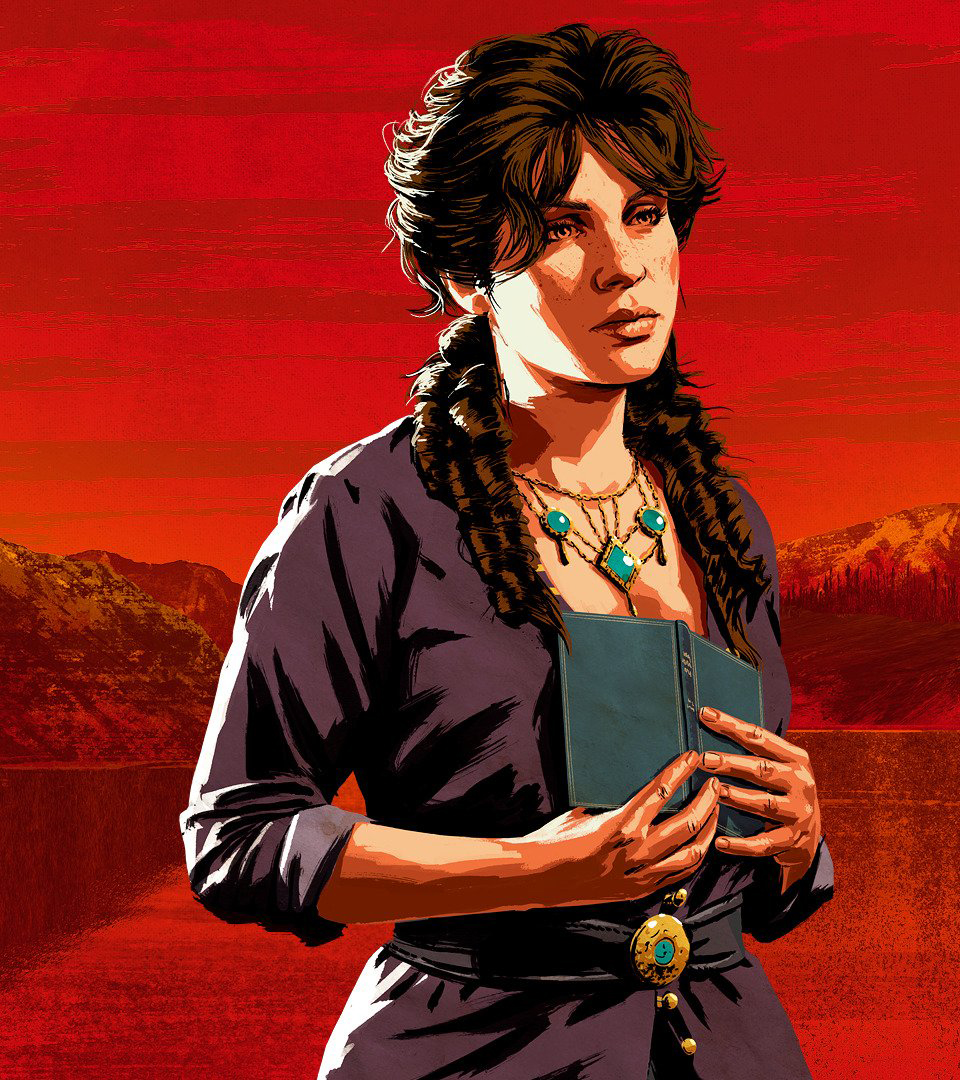 Red Dead Redemption Mary-Beth