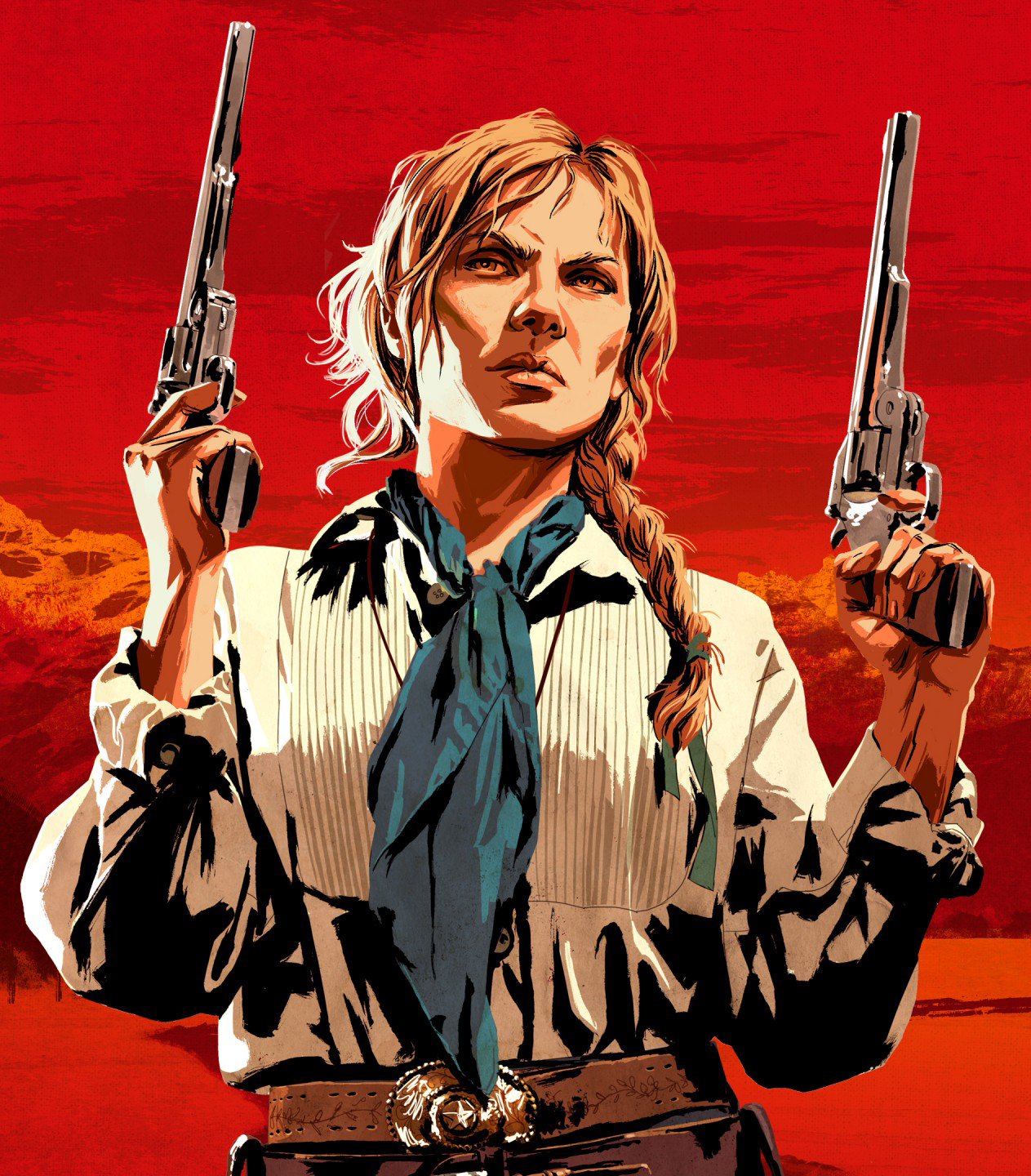 Red Dead Redemption Sadie