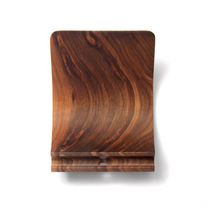 iPad-stand-Yohann-Pro-walnut-top-square-ipad pro accessories