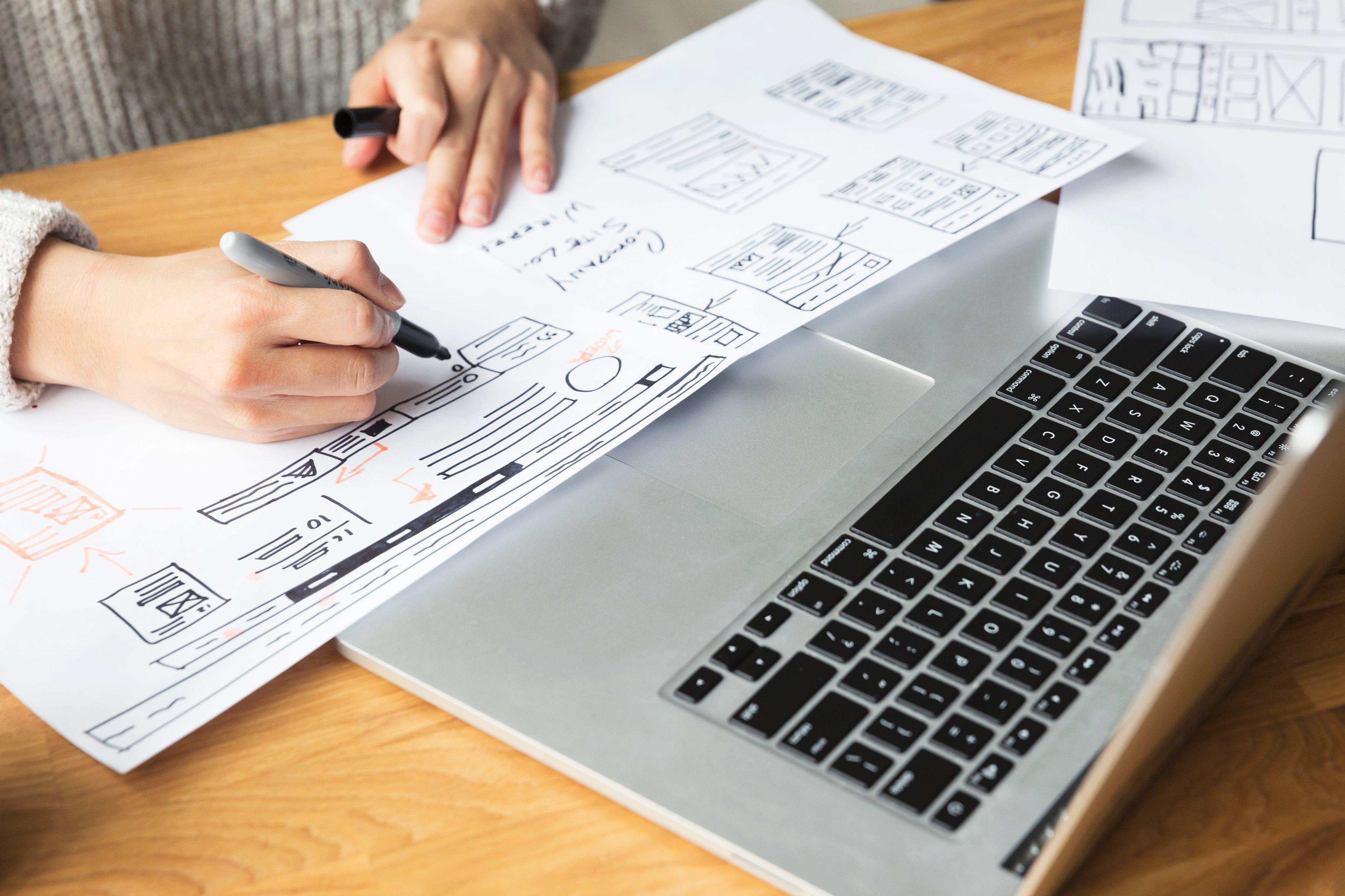 making notes-designer-drawing-