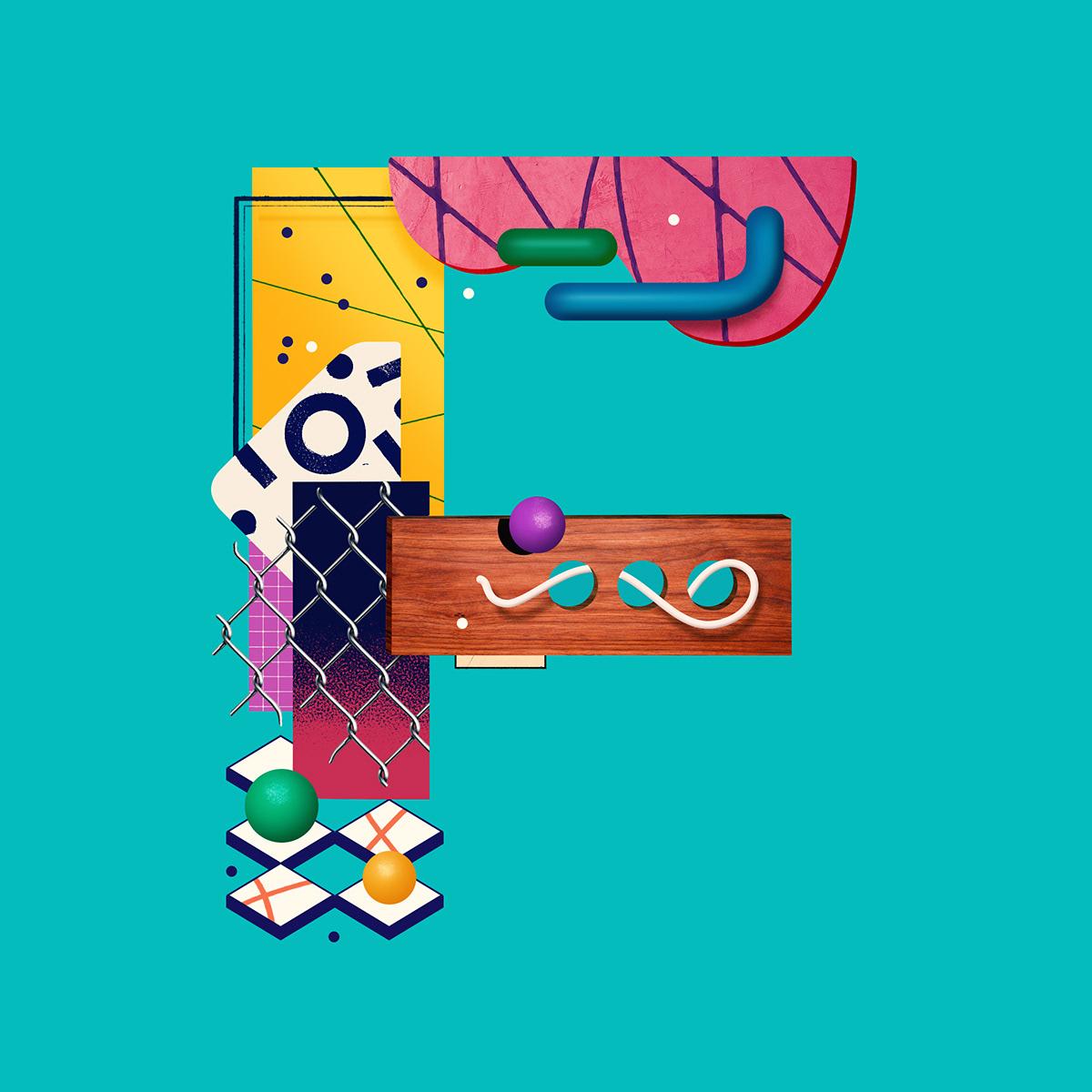 lettering diego morales design work