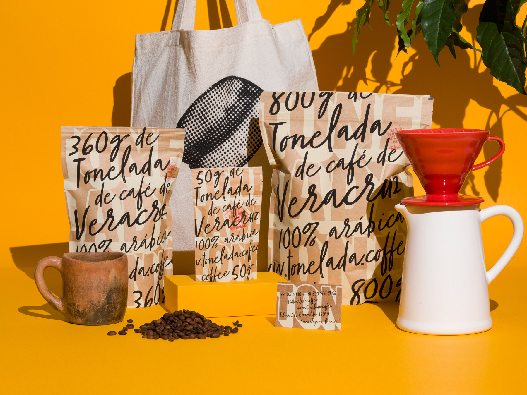 design work tonelada coffee