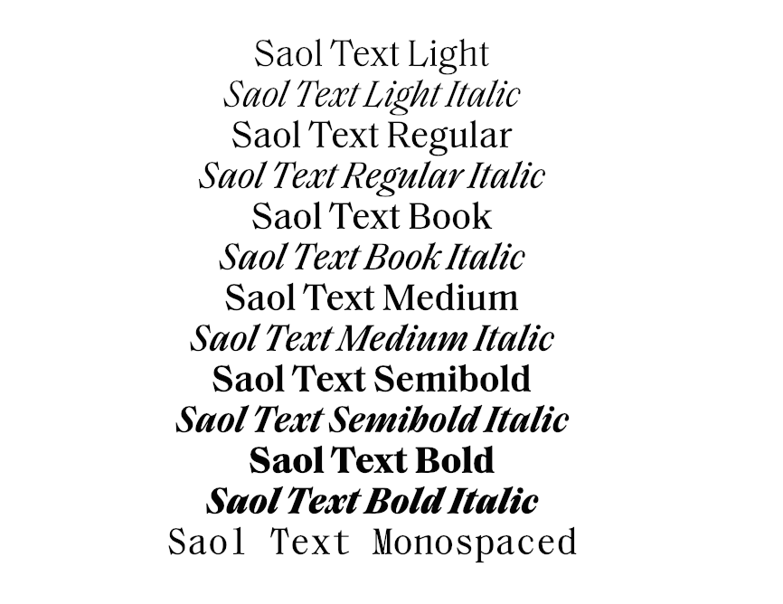 soal examples serif type