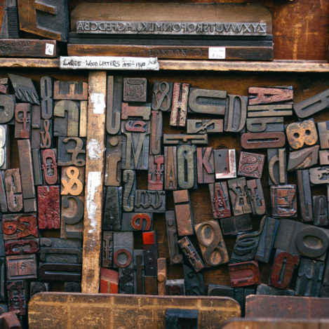 serif woodtype