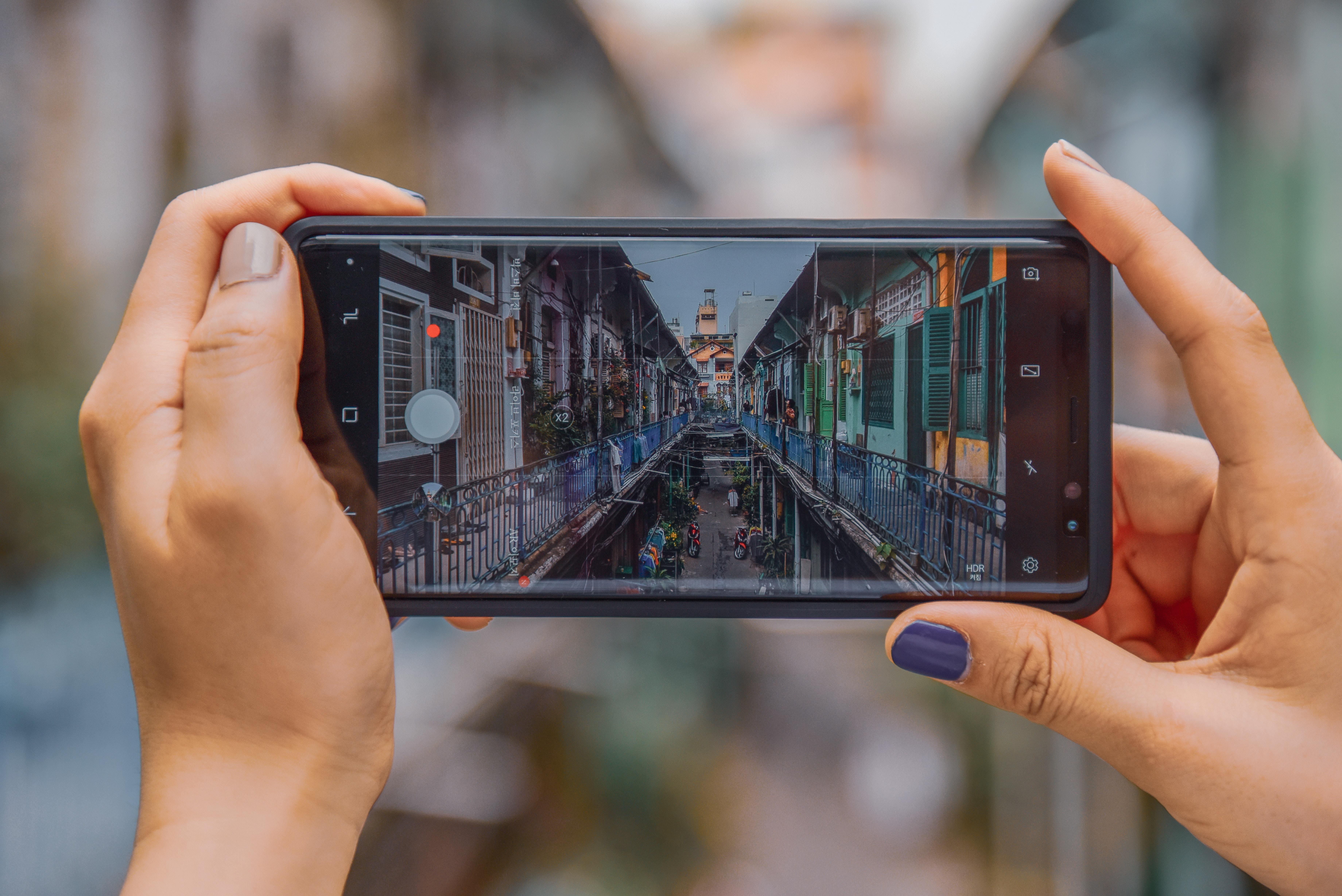 phone shot instagram images