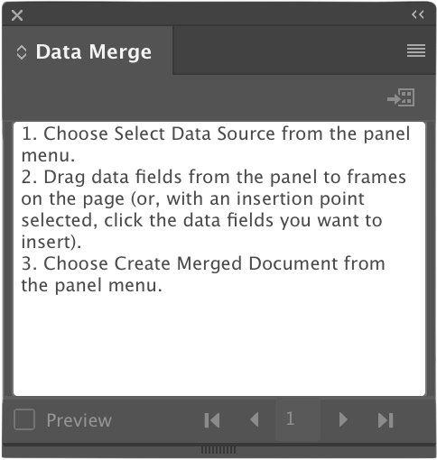 Discover Data Merge InDesign CC 2019 - Yes I'm a Designer
