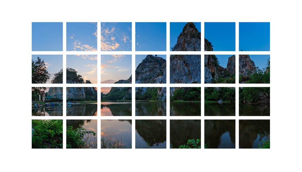 multiple image frames indesign masking