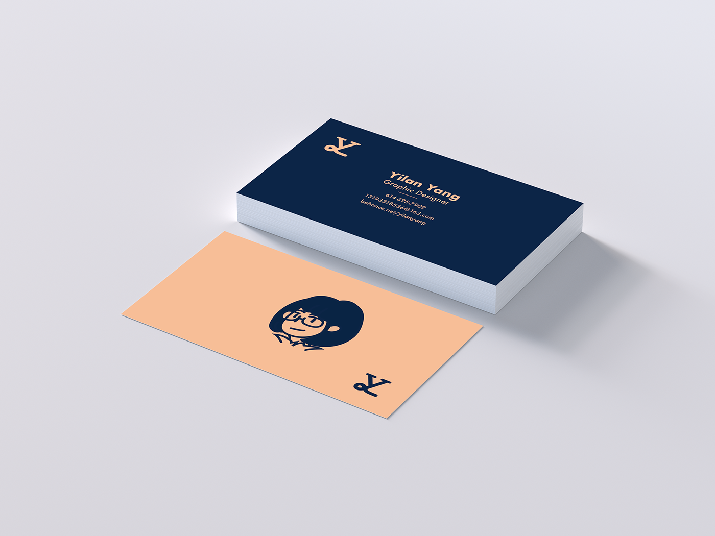 Business Card Design yilan yang