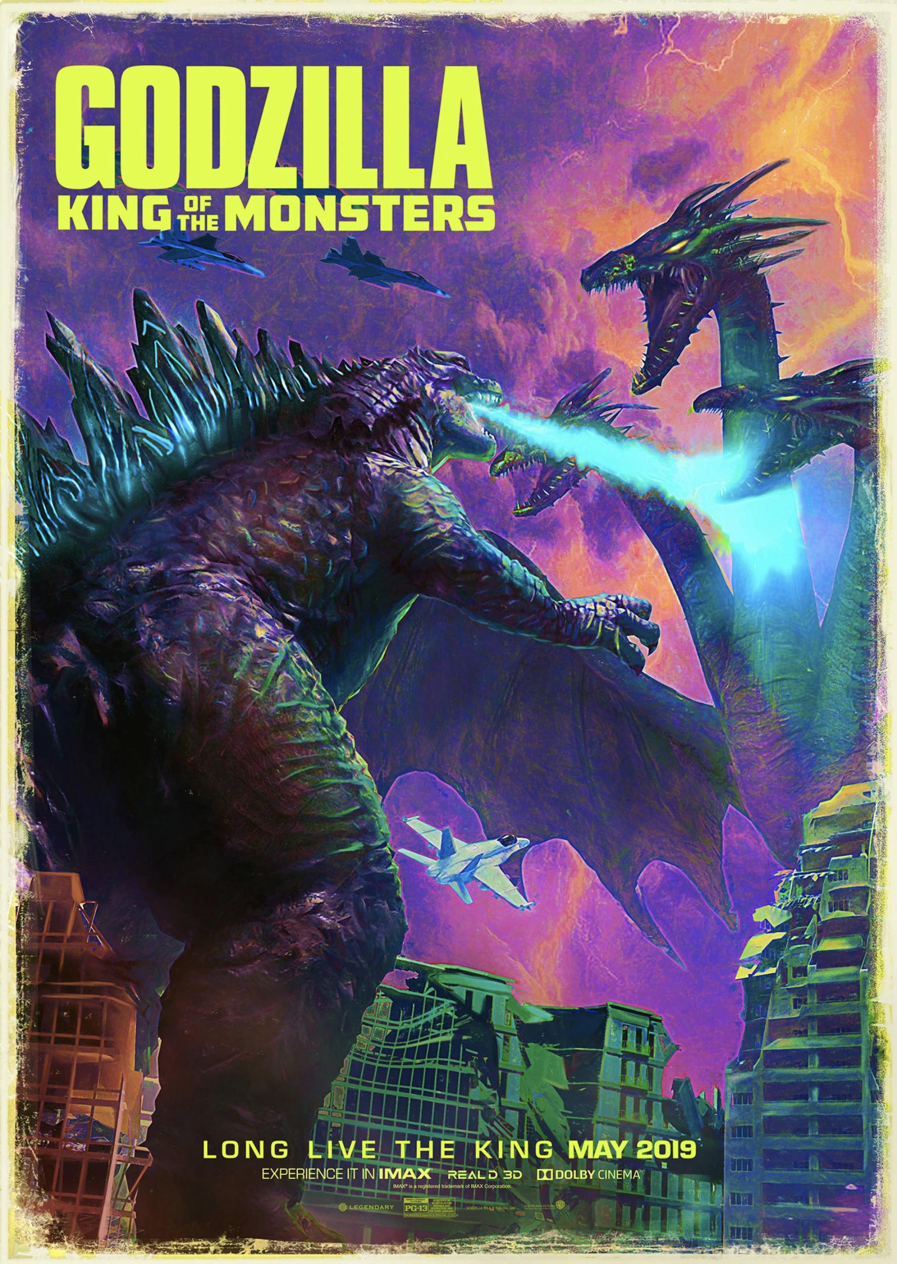 design entry winner 2 Chris Ramirez movie poster godzilla fan art