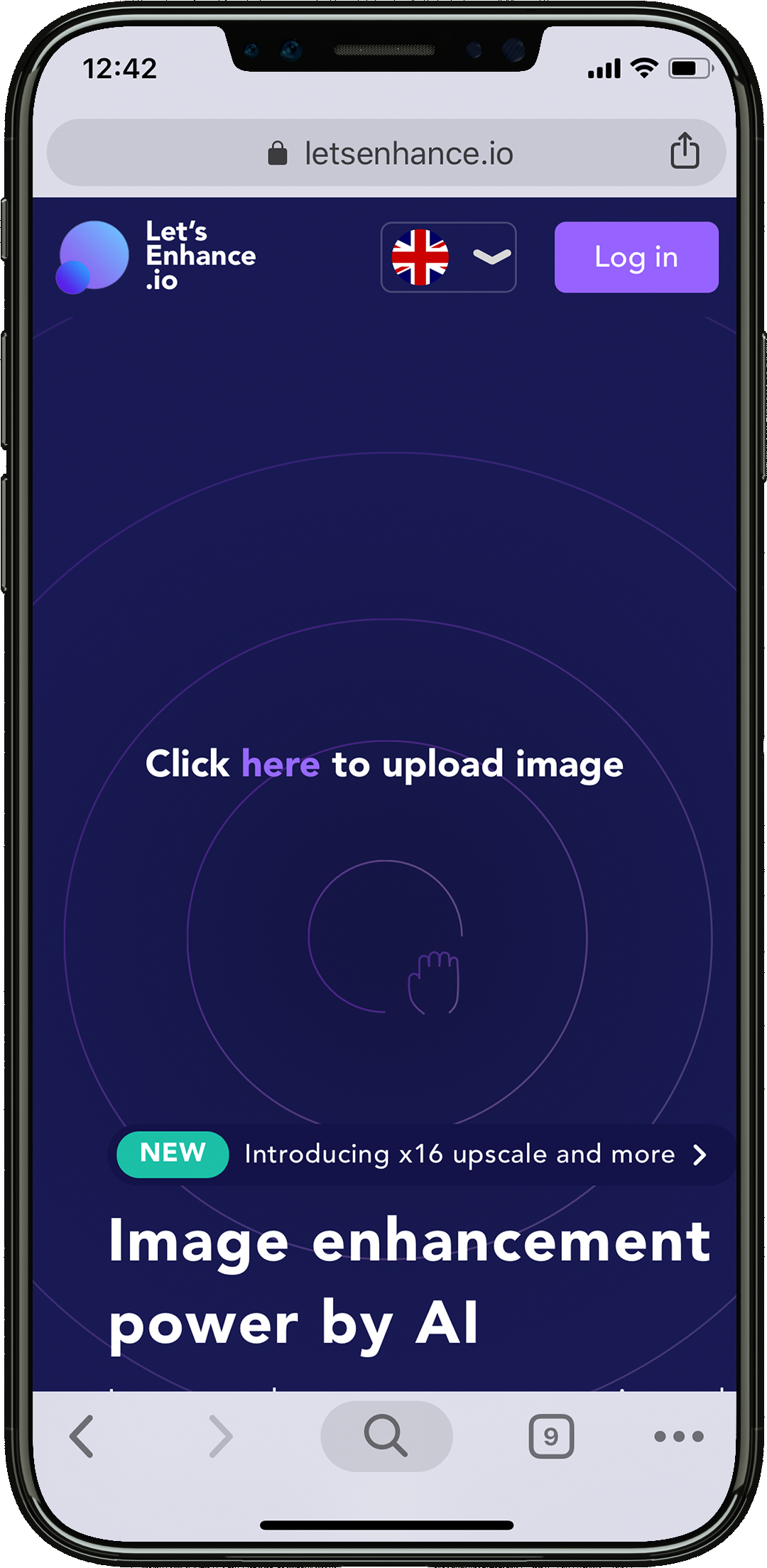 MOBILE APP VIEW image resolution