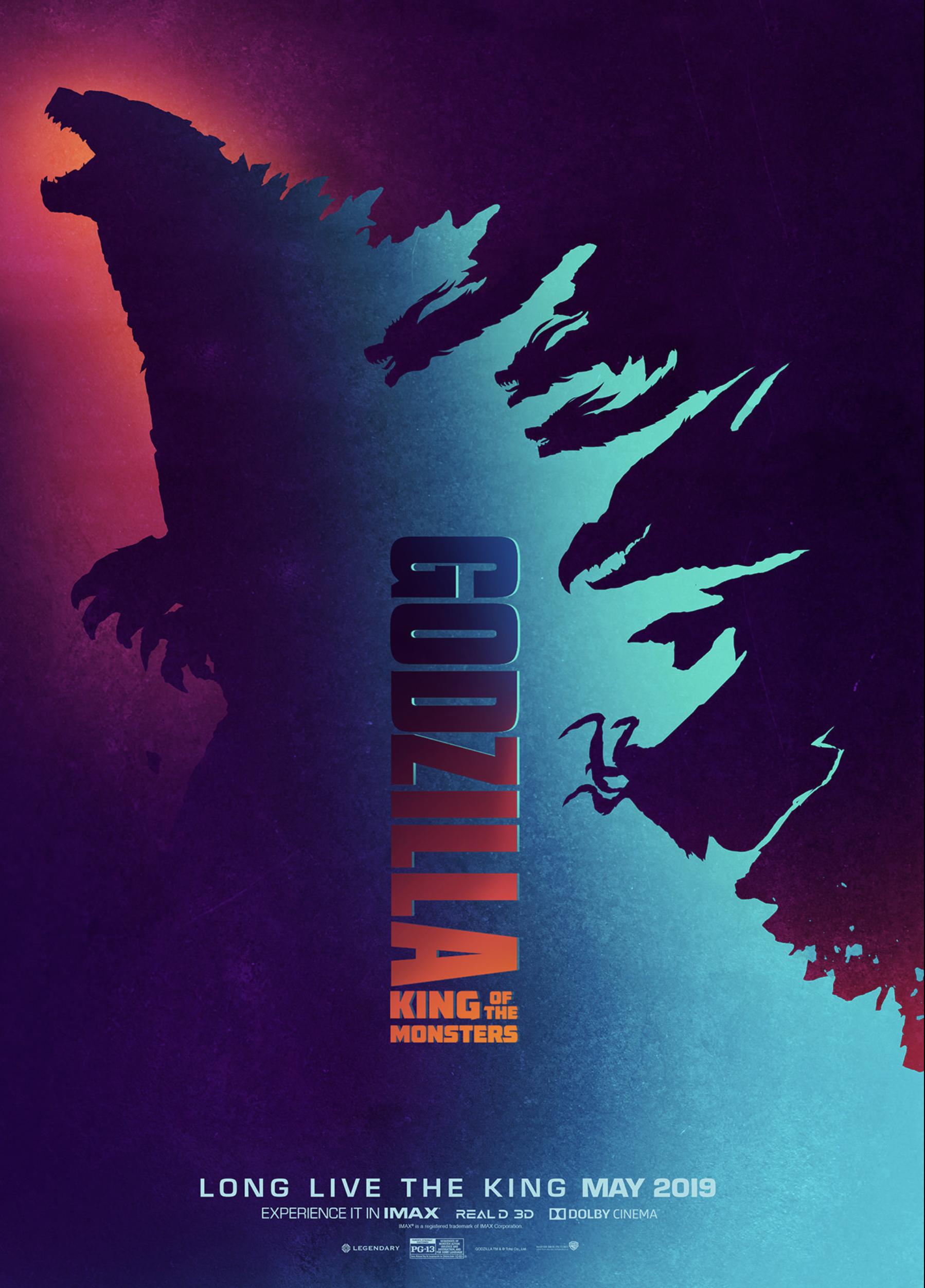 godzilla fan art design 4 Pablo Iranzo Duque movie poster
