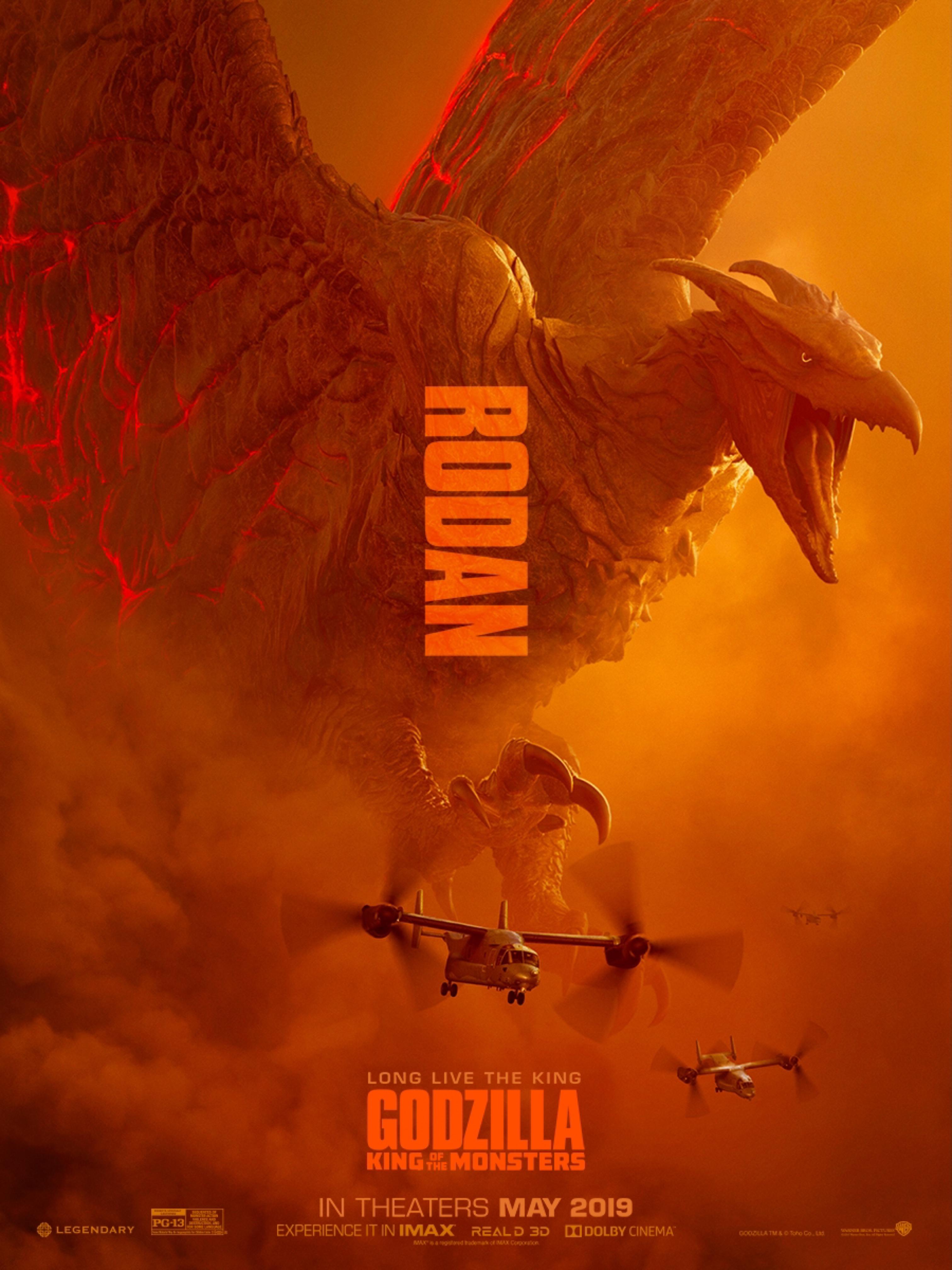 design 4 official movie poster design godzilla