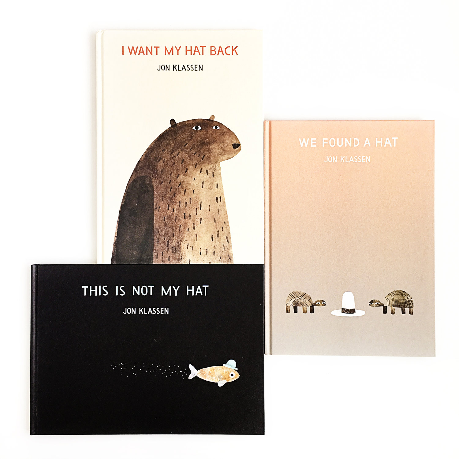 example of Jon+Klassen's creative process