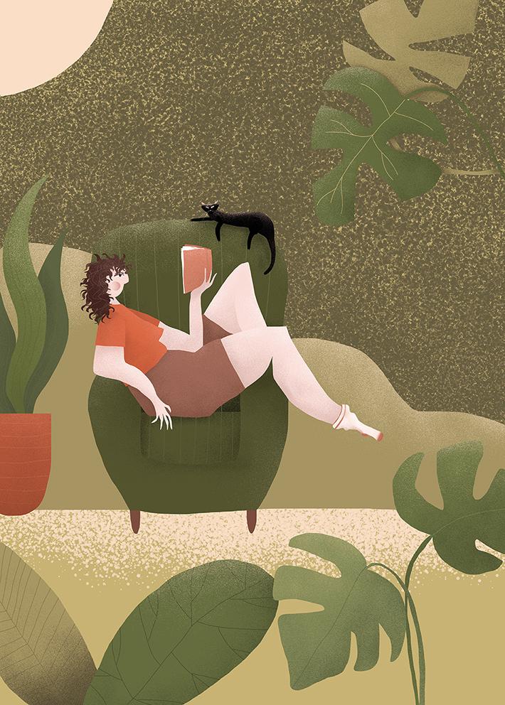 winner benq illustration reading