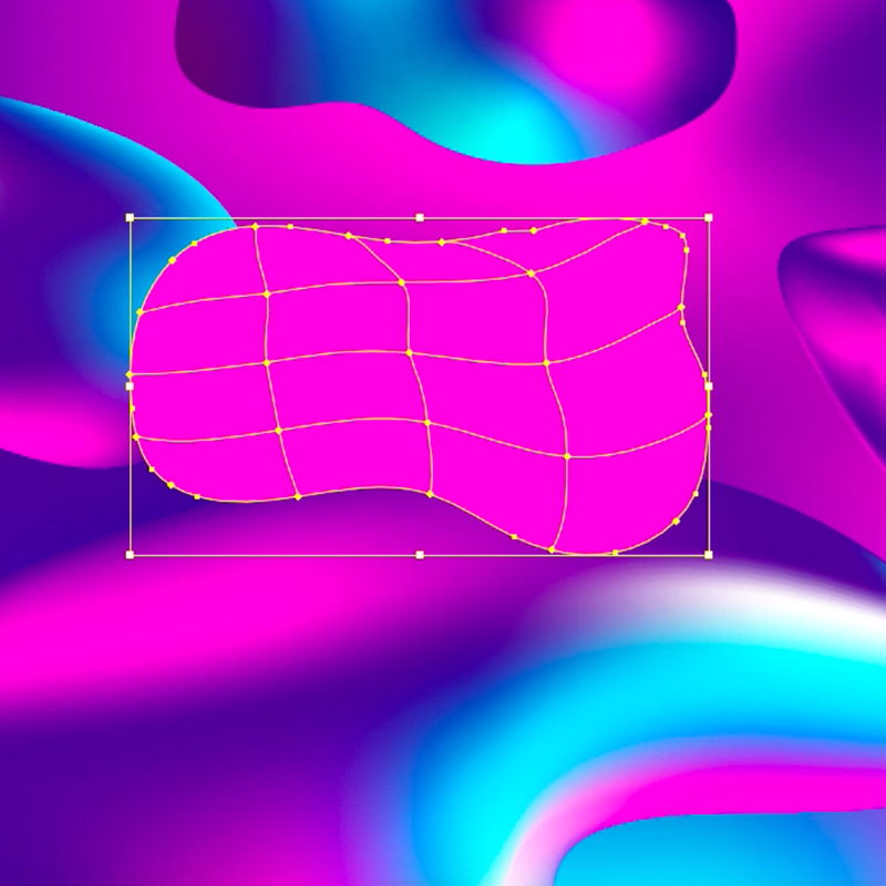 Gradient Mesh in action